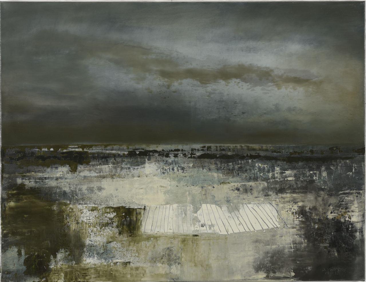 Entre-ciel-et-mer-2015-huile-s-toile-100x130cm